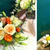 Roses, Lisianthus, Chamomille