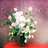 Cherry Blossoms, Cymbidium Orchid, Rannunculus, Lisianthus, Tulips, Lilac