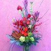 Amaryllis, Roses, Safari Sunset, Artichokes, Bells of Ireland, Magnolia